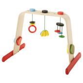 Тренажер для младенца, береза, разноцветный 701.081.77 Leka, Лека Икеа Ikea В наличии