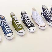 Кеды высокие Converse 4639: размер 39-45, 6 цветов