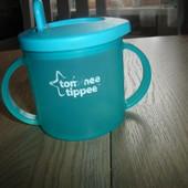 Поильник, первая чашка, стакан-непроливайка Tommee tippee 330 мл хорошее состояние  Стакан-непролива