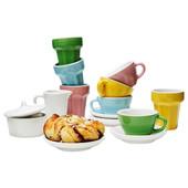 Игрушечной чайный сервиз, 10 предметов 901.301.63 Duktig, Дуктиг Икеа Ikea В наличии
