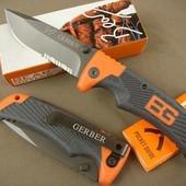 Нож походный складной Bear Grylls 18см с клипсой