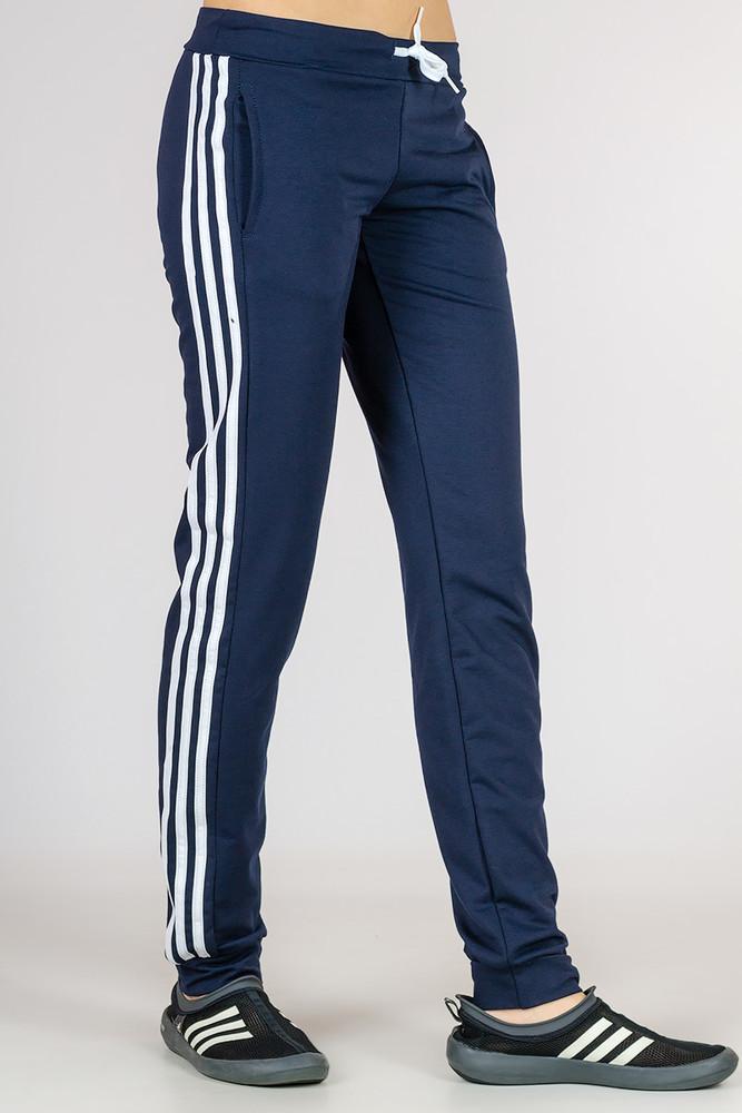 Женские трикотажные штаны, спортивные брюки размеры: s m l  xl  xxl фото №1