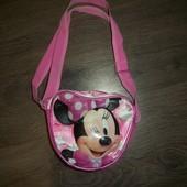 яркая сумочка с Минни Маус Disney Дисней