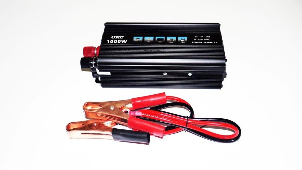 Преобразователь напряжения(инвертор) 12-220V 1000W фото №1