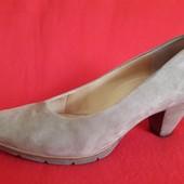 Замшевые качественные туфли от Paul Green ( Германия) р. 38 стелька 24,5 см