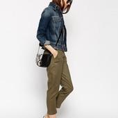 женские брюки хаки XS