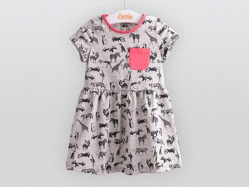 Бемби, легкое летнее платье р 74-92 фото №1