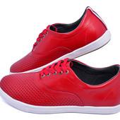 Мокасины мужские кожаные с перфорацией Multi-Shoes