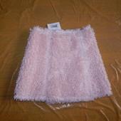 5-8 лет р. 110-128, эксклюзив! юбка меховушка с запахом Lili Gaufrette, Великобритания