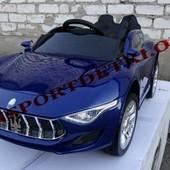 Детский электромобиль Maserati 8898 синий,  вишня, белый и розовый