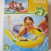 Плот надувной детский с ручками Intex 58167 81х76x4,5 см.