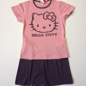 Детская пижама, домашний костюм Hello Kitty на девочку 6 лет рост 116
