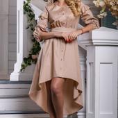 Платье 42,44,46,48  размеры  3 цвета