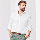 Классическая белая рубашка Оксфорд от Tcm Tchibo, Германия, размер 39-40