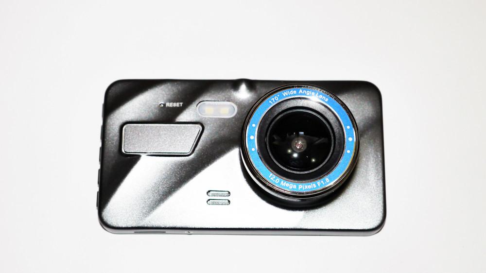 """Видеорегистратор dvr a10 4"""" full hd с выносной камерой заднего вида фото №1"""