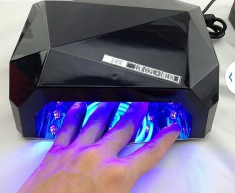 Ультрафиолетовая Led UV лампа 36 W с таймером для маникюра и педикюра фото №1