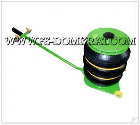 Домкрат пневматический подкатной ДП-3Т фото №1