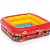 Детский бассейн Тачки Intex Hot Wheels