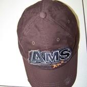 Стильная кепка-бейсболка на объем до 62 см.