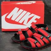 Сандалии мужские Nike red