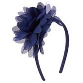 Обруч с синим цветком для девочки crazy8