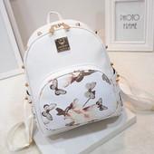 Скидка. Стильный женский рюкзак Flowers. Два цвета
