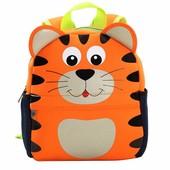 Рюкзак детский из неопрена для мальчика и для девочки. Рыжий Кот.