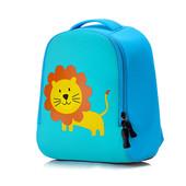 Детский рюкзак, для мальчика и девочки из неопрена. Лев.