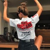 Стильная модная футболка Эскобар