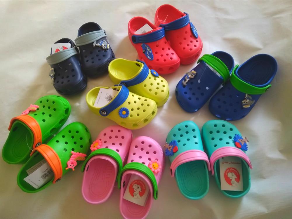 Кроксы  детские аналог crocs фото №1