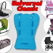 Матрасик Universal Classic в коляску, автокресло, стул