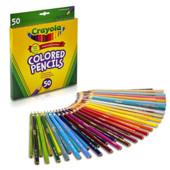 Crayola карандаши цветные 50 штук Крайола оригинал