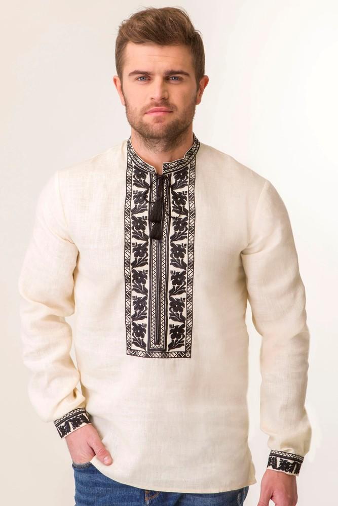 Вишиванка чоловіча з дизайнерською вишивкою фото №1 f581008345f89