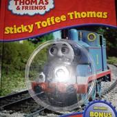 Книга детская на английском языке паравозик Томас!