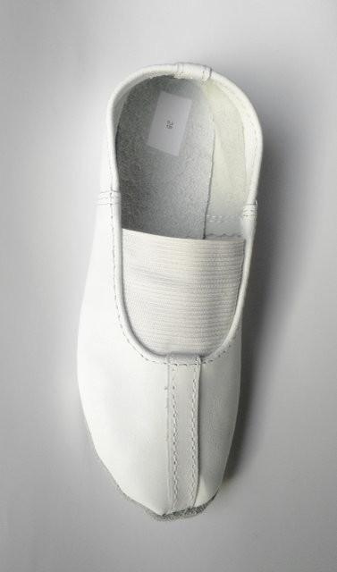 Чешки кожаные для девочки matita 31, 32, 33, 34, 35(р) белый 1336  чешки кожаные для занятий спорт фото №1