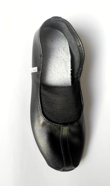 Чешки кожаные для девочки matita 31, 32, 33, 34, 35(р) черный 1346  чешки кожаные для занятий спорт фото №1