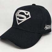 Мужская кепка, цвет чёрный