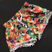 3 г (98) лёгкие шорты для девочки