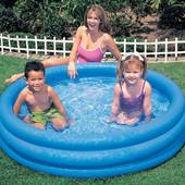 Детский надувной бассейн Intex 58446 «Кристалл»