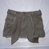 4-5 лет, р. 104-110, модная коттоновая юбка SB&SC