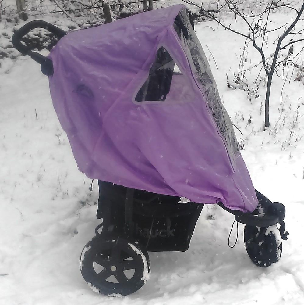 Дождевик, ветровик на трицикл + подарок фото №1