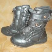 Зимние теплые Сапожки Ботинки Стелька 18,2 см.