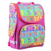 Каркасный рюкзак Butterfly от Smart. Пенал в подарок. Акция до 25.05