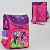 Рюкзак школьный N 00171 2 кармана, спинка ортопедическая, ножки пластиковые