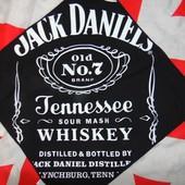 Новая стильная бандана платок бренд . Jack Daniels