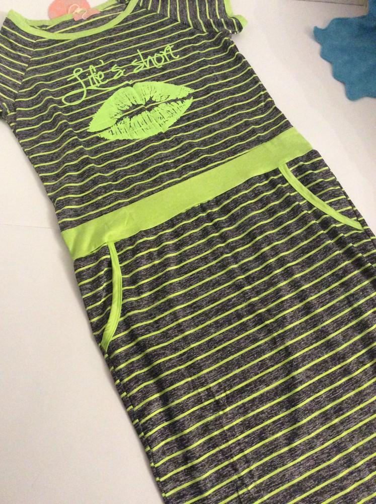 Luc-ce летнее платье в полосочку «губы» р.м-l фото №2