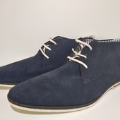 Ботинки мужские, натуральный замш, Venturini (Италия) размер 44
