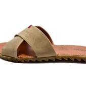Шлепанцы иужские кожа Multi-Shoes