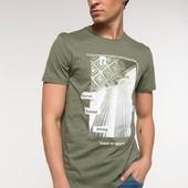 2-11 Мужская футболка DeFacto одежда Турция чоловіча футболка майка мужская одежда