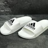 Мужские шлепанцы Adidas white